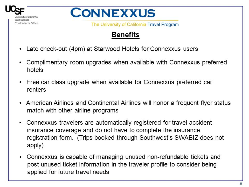 Introduction to connexxus ppt video online download benefits late check out 4pm at starwood hotels for connexxus users altavistaventures Images