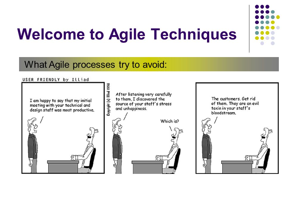 Welcome to Agile Techniques