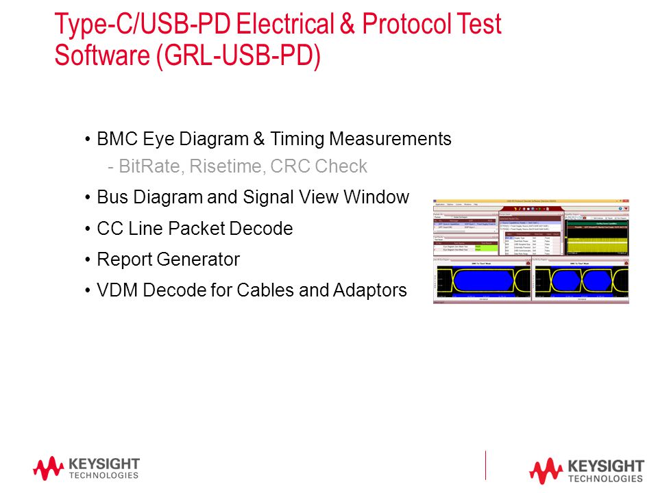 Type c power delivery 3 chapters in the power delivery spec type cusb pd electrical protocol test software grl usb ccuart Gallery