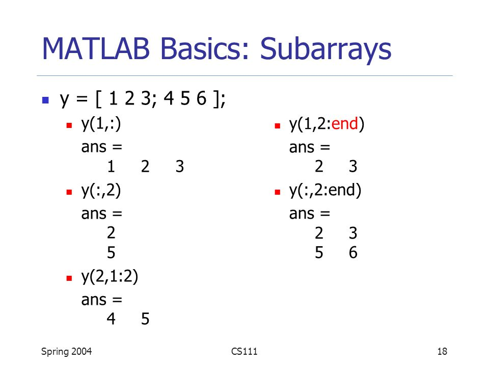 foto de Introduction to MATLAB - ppt video online download