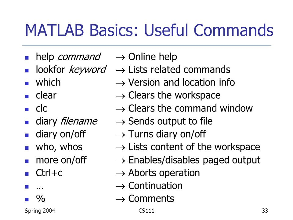 Introduction to MATLAB - ppt video online download