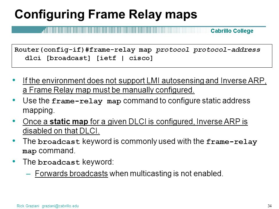 Ccna 5. 0 planning guide chapter 4: frame relay. Ppt download.
