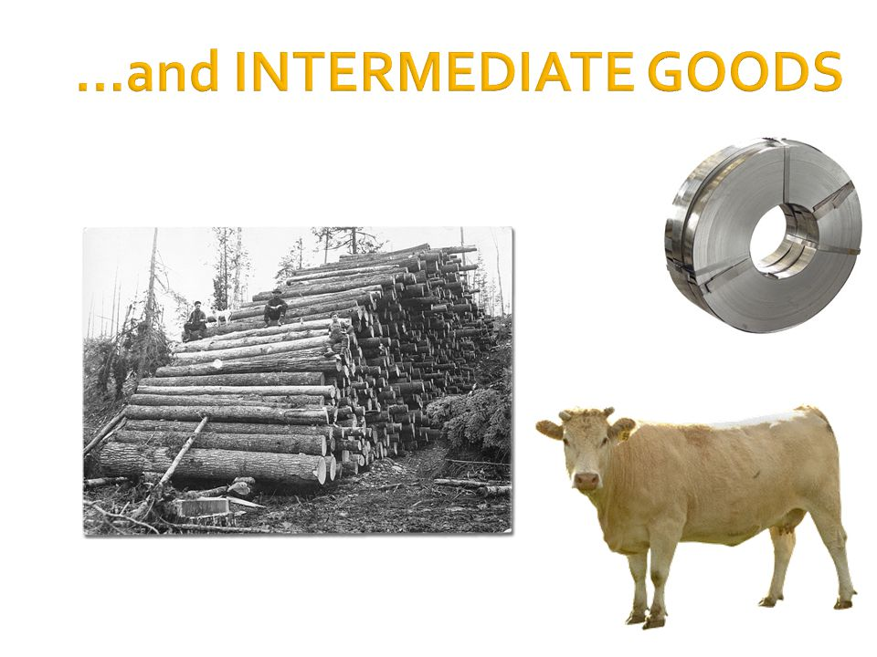 …and INTERMEDIATE GOODS