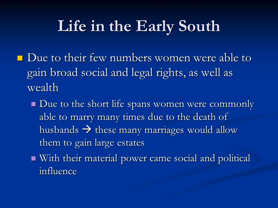 what economic social and ethnic conditions typical of the early southern colonies were generally abs The gold rushes and the decades that followed were a time when victoria appeared very attractive to people wishing to escape from the economic conditions at home in europe as well as in asia approximately one-third of the chinese immigrants to victoria were.
