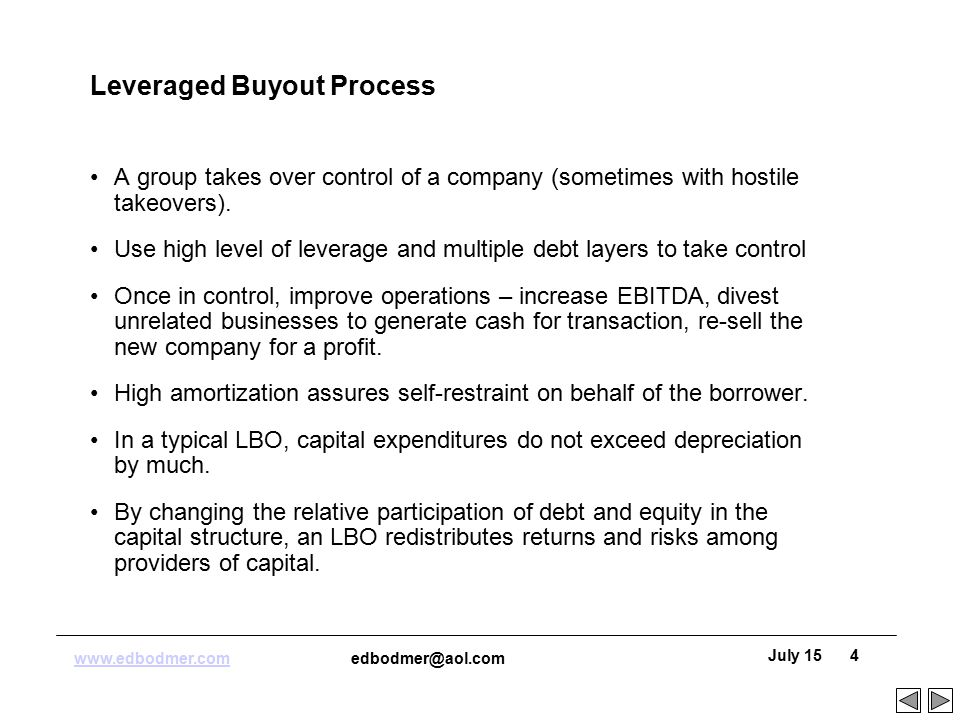 LBO General Discussion - ppt download