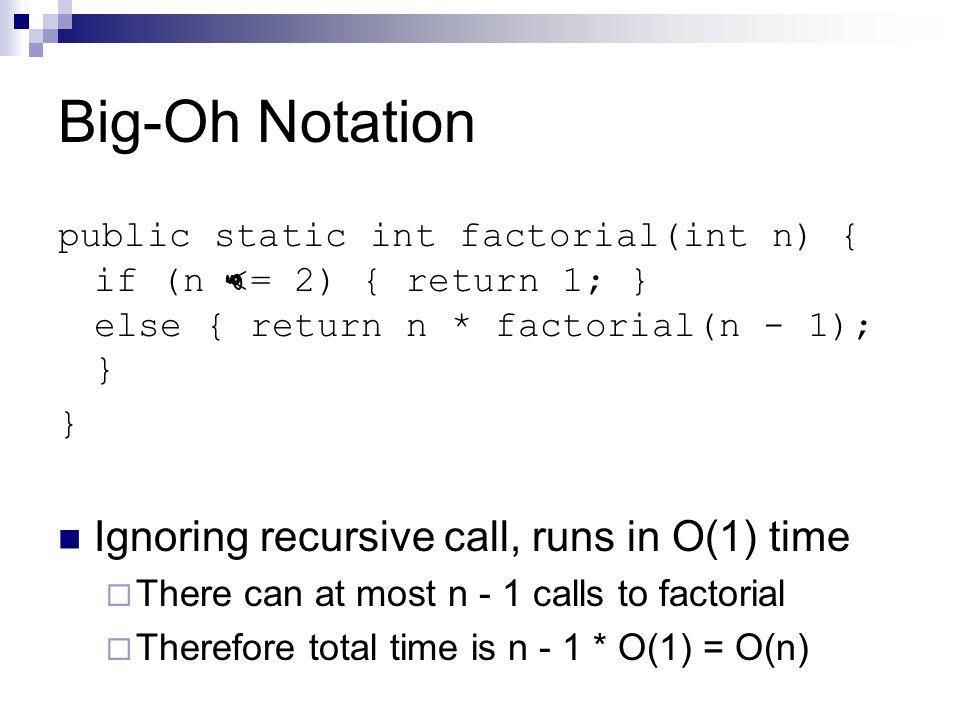 Asymptotic notations.