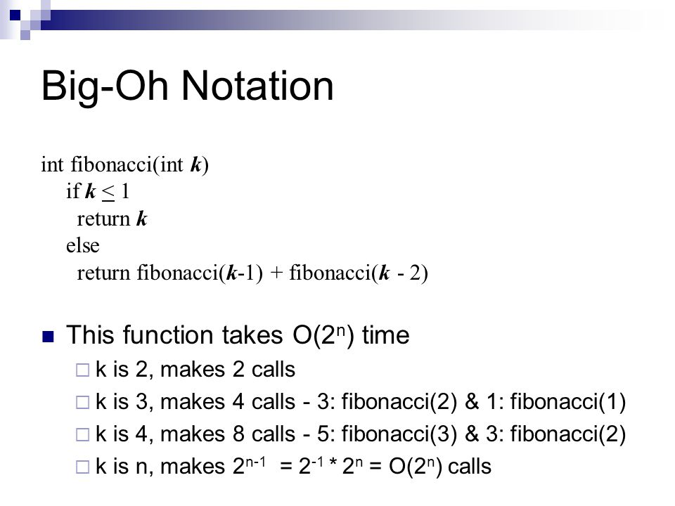 Lecture 16: big-oh notation ppt video online download.