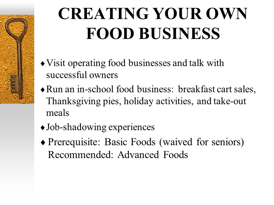 Food Business School