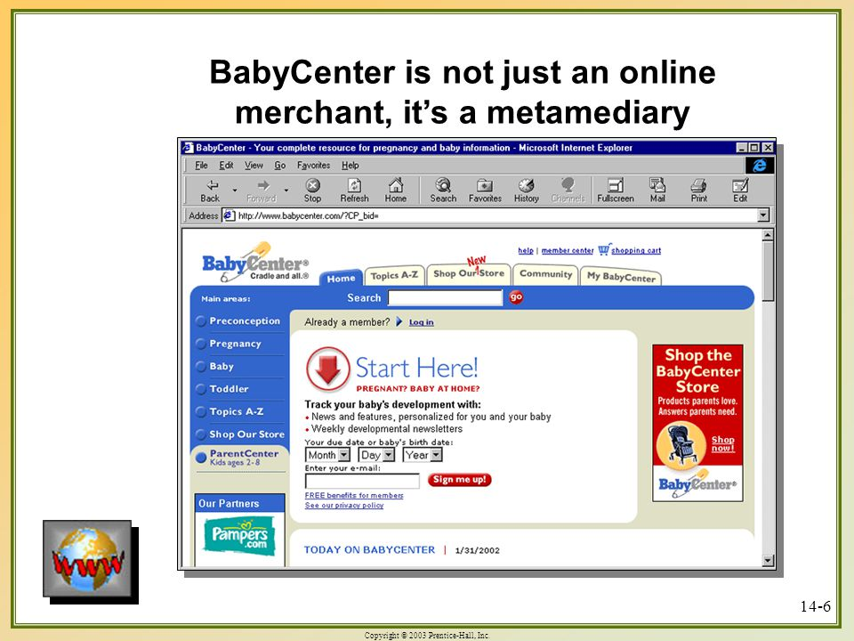 BabyCenter is not just an online merchant, it's a metamediary