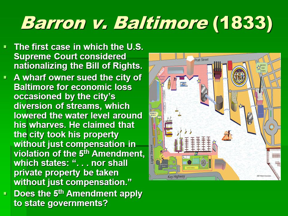 barron v baltimore case brief