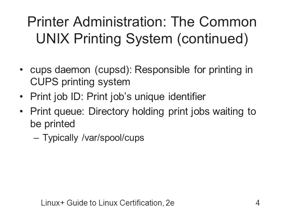 Linux+ Guide to Linux Certification, Second Edition - ppt download