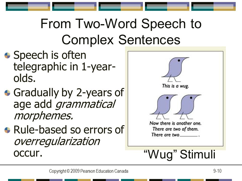 From Two-Word Speech to Complex Sentences