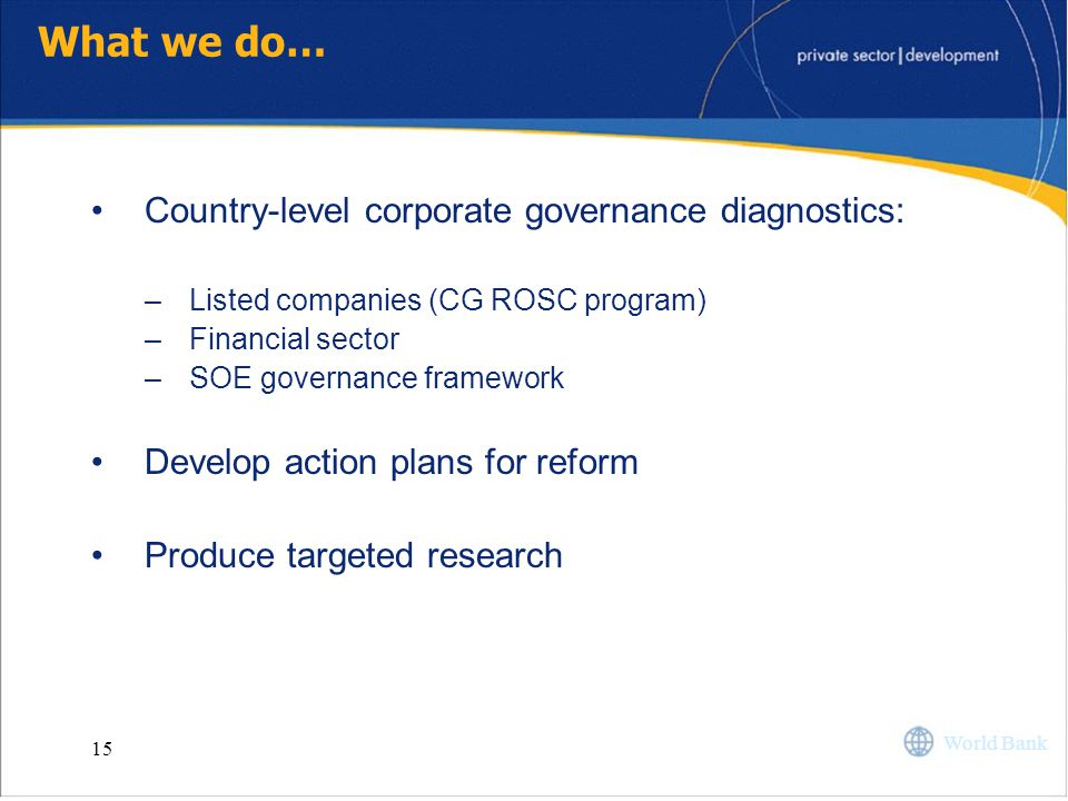 Corporate Governance Group - ppt video online download