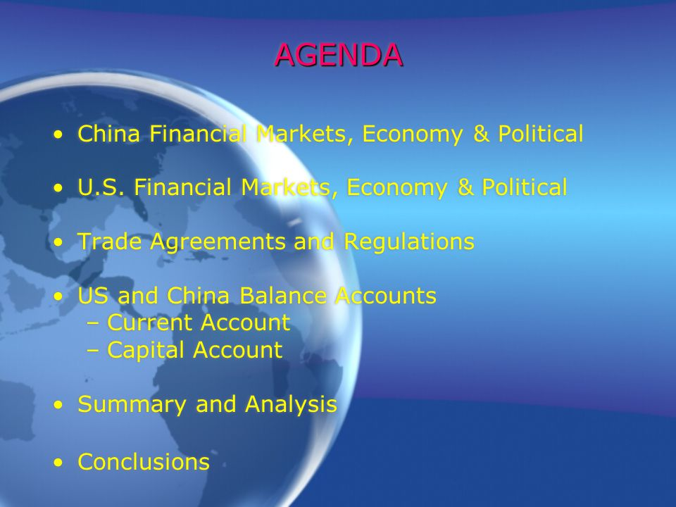 China Us Trade Relations Ppt Download