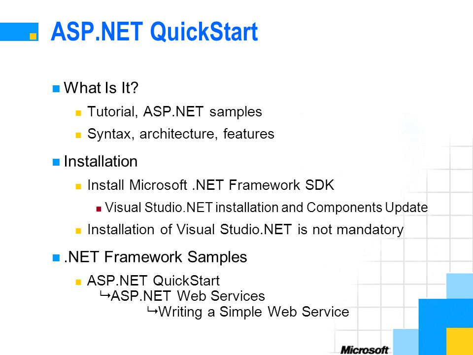 Vb. Net framework demonstration tutorial – solid framework sdk.