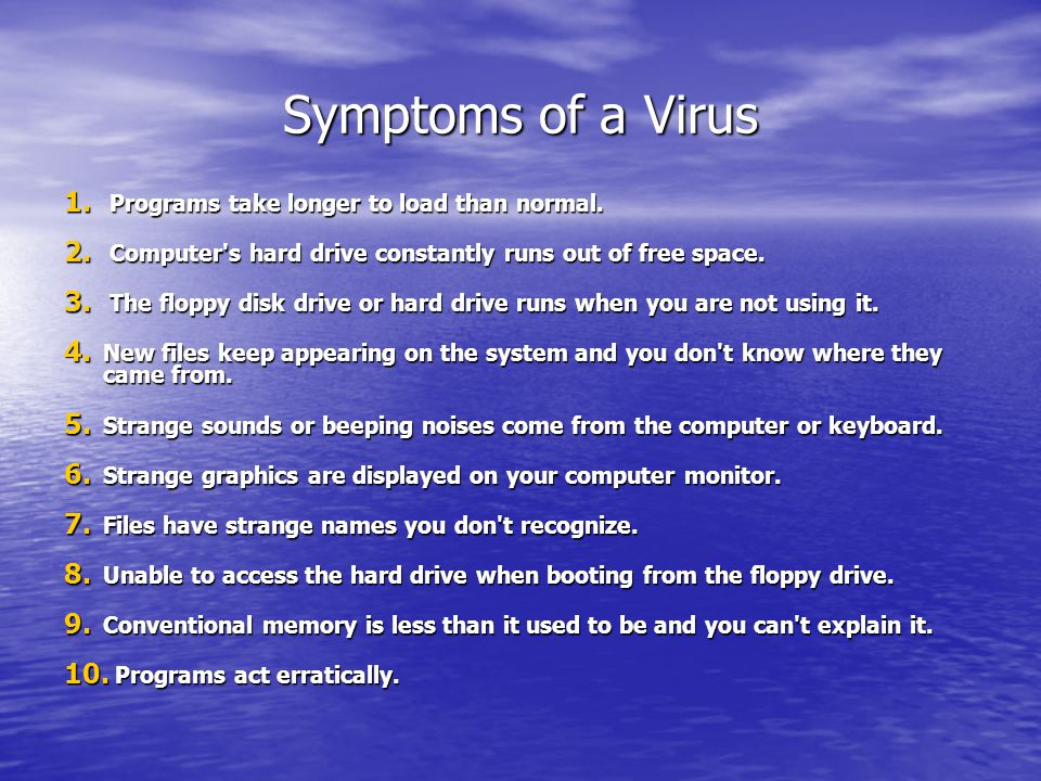Anti-Virus and Virus A - Team Presents: - ppt download
