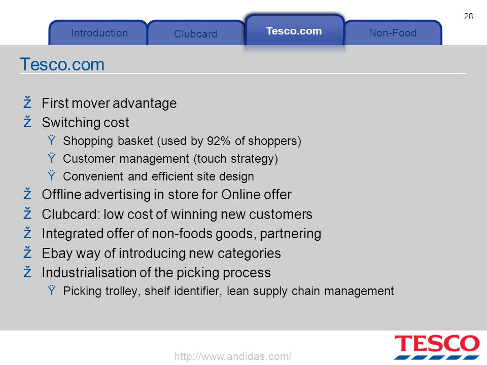 tesco hybrid strategy