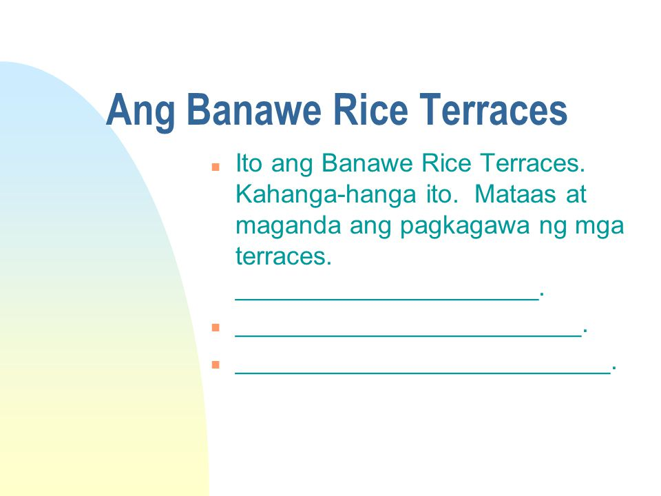 Ang Banawe Rice Terraces