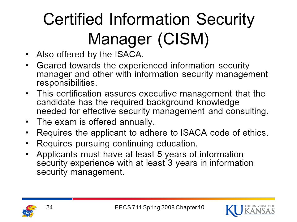 security manager duties and responsibilities