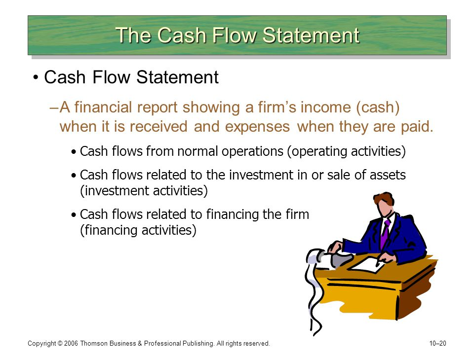 The Cash Flow Statement