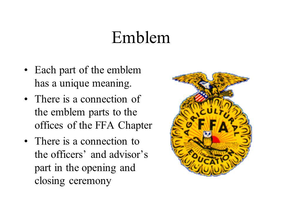 The Ffa Emblem And Symbols Ppt Video Online Download
