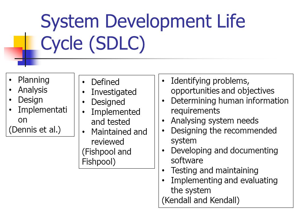 Systems Analysis And Design Level 3 Ppt Download