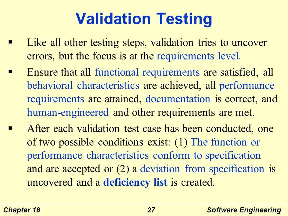 Chapter Eighteen Software Testing Strategies Ppt Video Online Download
