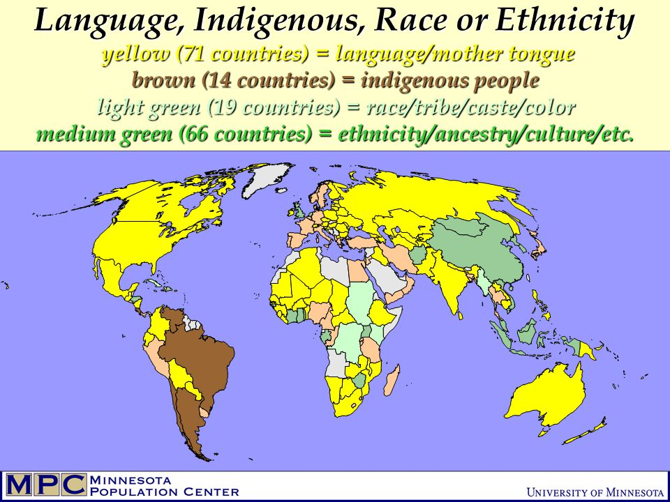 indigenous countries