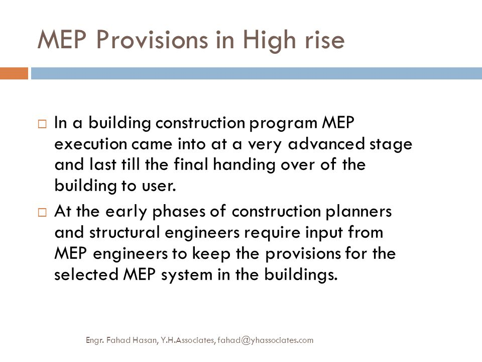 Mep provisions high rise commerical building green approach ppt mep provisions in high rise publicscrutiny Images