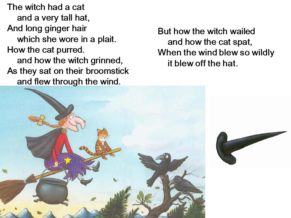 The Witch Had A Cat And A Very Tall Hat
