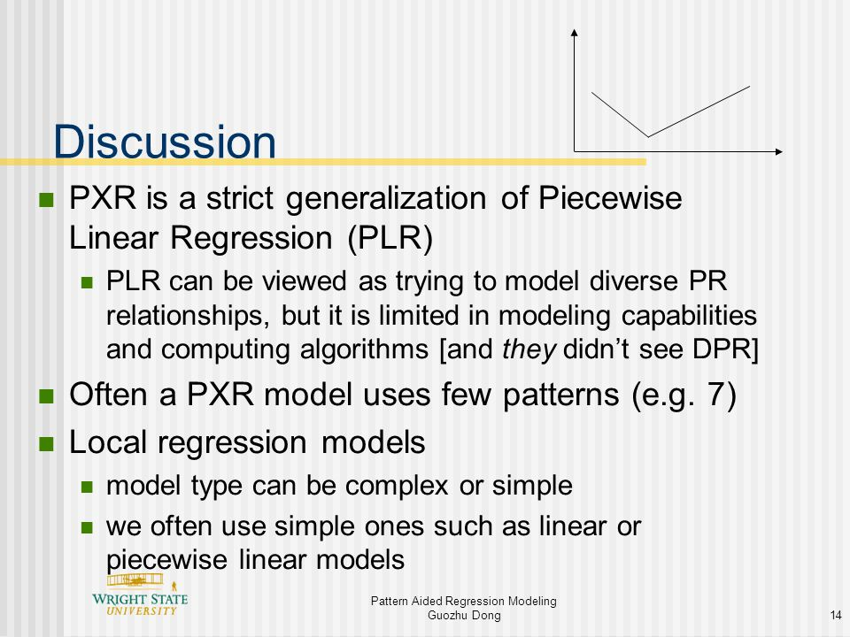 Pattern Aided Regression Modeling & Pattern Aided Problem