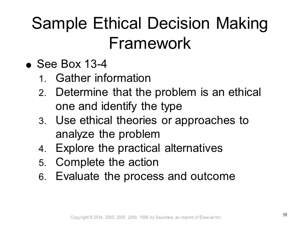 Ethical Decision Making - ppt download