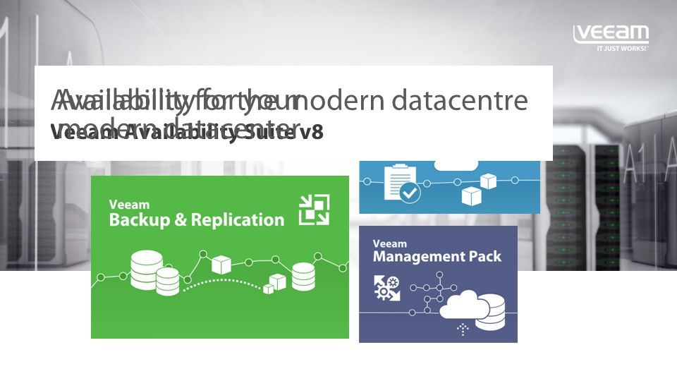 Veeam Availability Suite v8 - ppt video online download