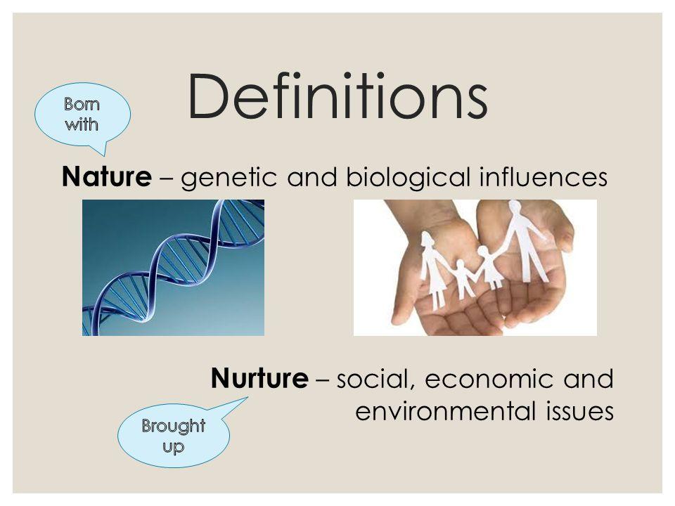 nature and nurture definition
