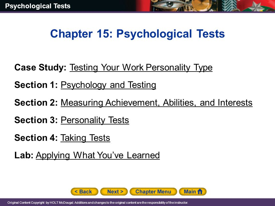 psychology chapter 5 test Learn test practice chapter 5 psychology with free interactive flashcards family studies 210: chapter 5 practice test i the scientific study of human development 1 define developmental psychology.