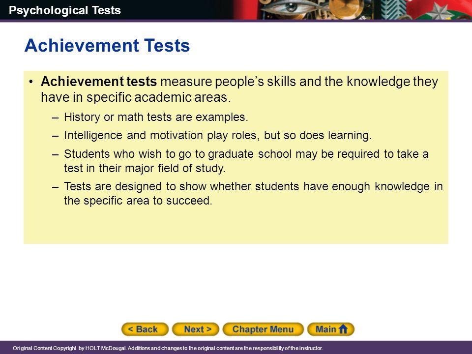 Chapter 15 Psychological Tests Ppt Download
