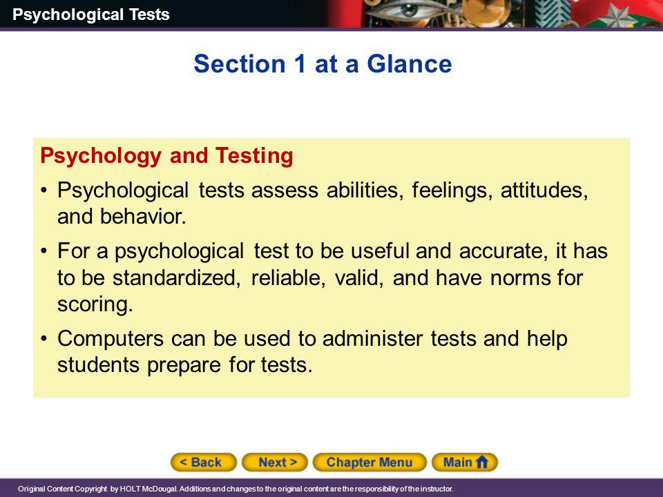 Chapter 15: Psychological Tests - ppt download