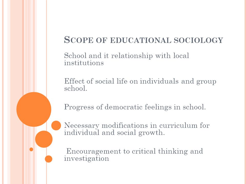 thesis sociology education The thesis proposal an honors thesis proposal is a document written by a student in consultation with his/her honors thesis advisor it identifies the problem or question that the student will address in the thesis and explains how the student will go about investigating it.