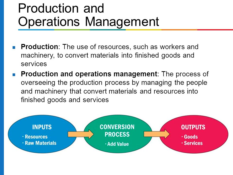 mcdonald's production and operations management Operations management &amp decision making - planning and control assignment the organisation i have chosen to examine from an operations management and decision making standpoint is mcdonald's, a worldwide chain of fast food restaurants, which are run either by a franchise, an affiliate or by the corporation itself.