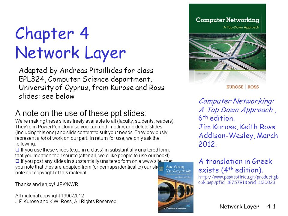 kurose and ross computer networking 6th edition ppt