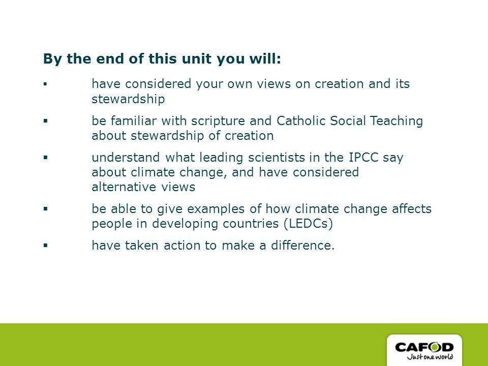 Creation and Stewardship - ppt download