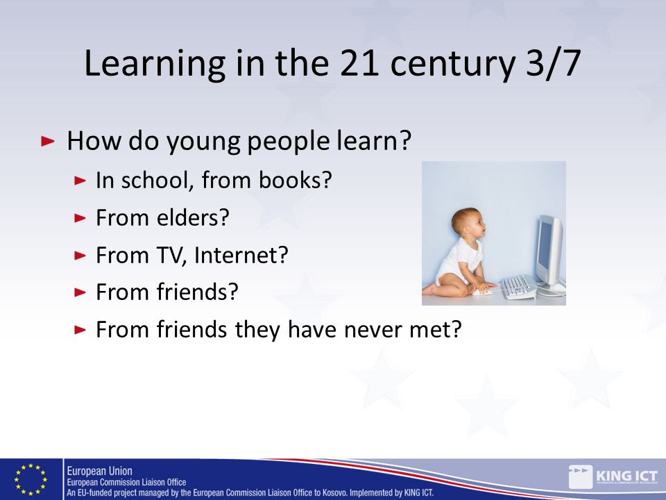 Learning in the 21 century 3/7