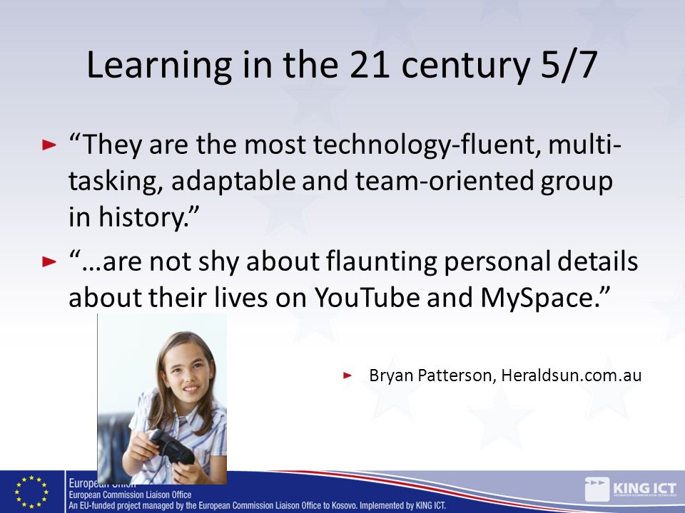 Learning in the 21 century 5/7