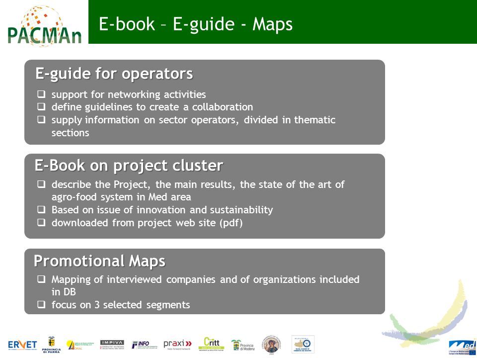 E-book – E-guide - Maps E-guide for operators