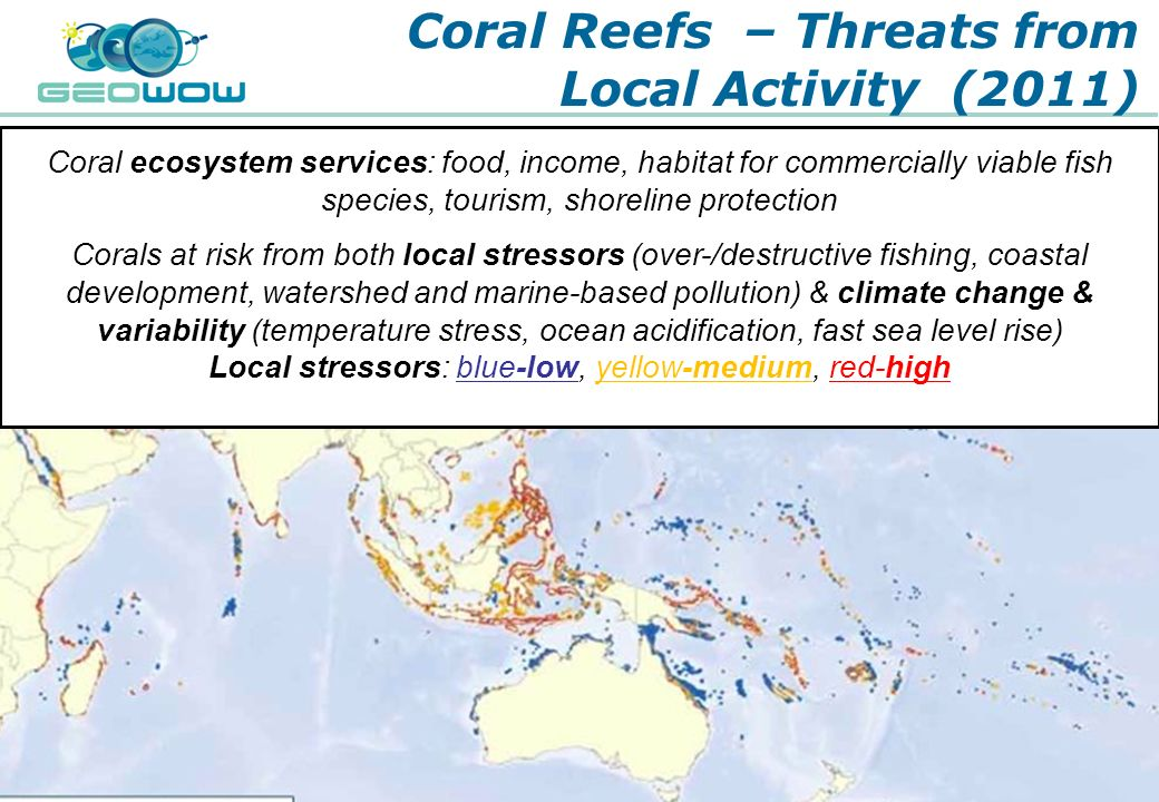 Coral Reefs – Threats from Local Activity (2011)