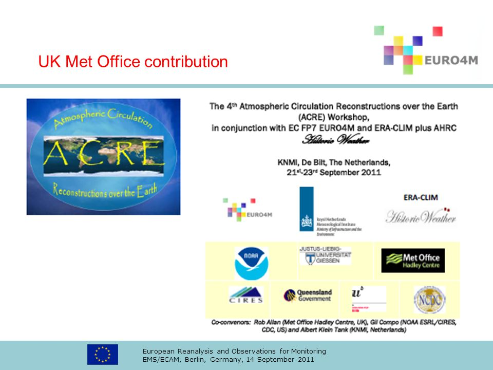 UK Met Office contribution