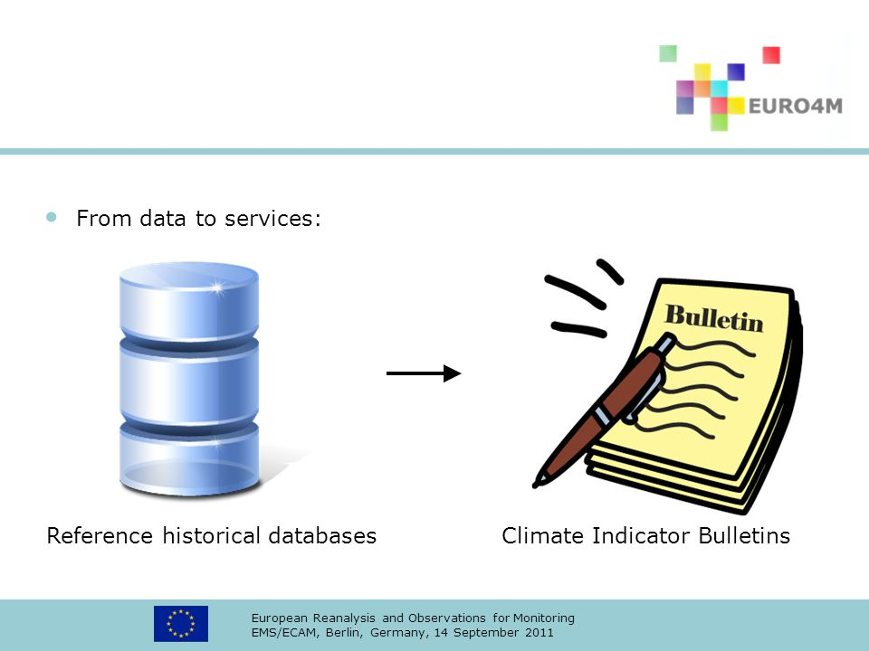 Reference historical databases Climate Indicator Bulletins