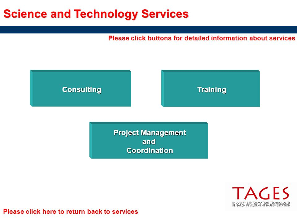 Science and Technology Services