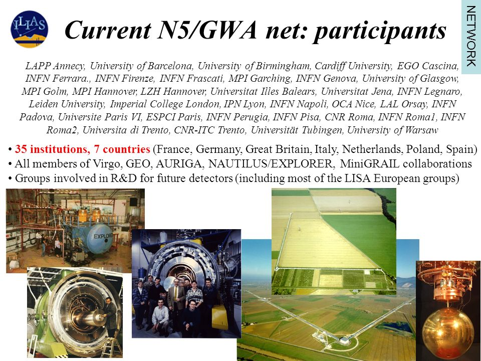 Current N5/GWA net: participants