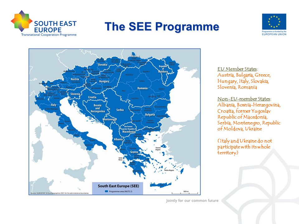 The SEE Programme EU Member States: